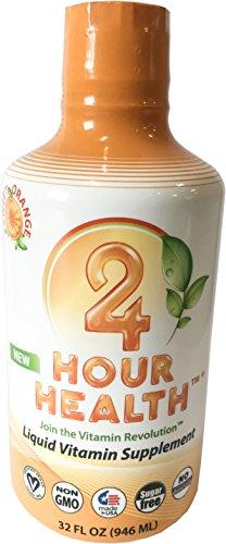 Liquid Vitamins – Vegan Multi-Vitamin, Liquid Minerals, Vitamins C + B, Sugar Free Non GMO Nutritional Dietary Supplement, 98% Absorption Promotes Stress Relief, Weight Loss,Heart & Brain Health,32oz