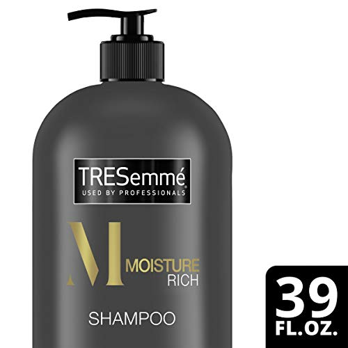 TRESemmé Shampoo with Pump, Moisture Rich, 39 oz