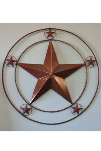 R U0026 R Enterprises 21u0026quot; 6 Star Metal Star, Six Stars, Wall Art