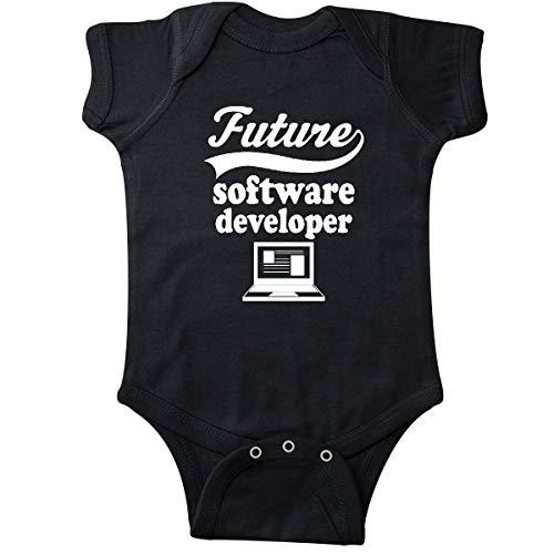 inktastic - Future Software Developer Shirt Infant Creeper 6 Months Black 26a15