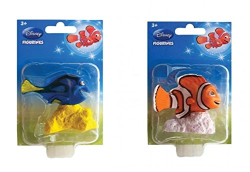 Disney Finding Dory Nemo & Dory Cake Topper Figurines ~ 2