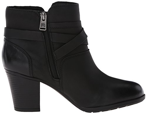 Boot Women's Nubuck Black Buckle Catriona Casuals City Rockport UXxwHdZqgq