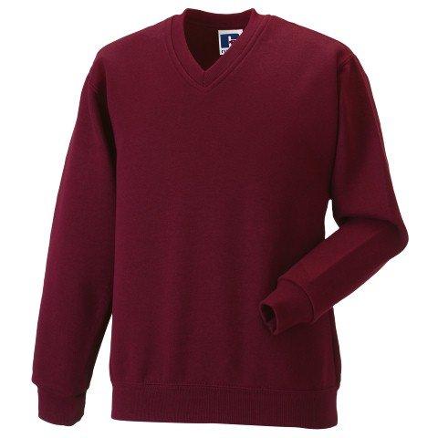 Russell Athletic V-Neck Sweatshirt - 2