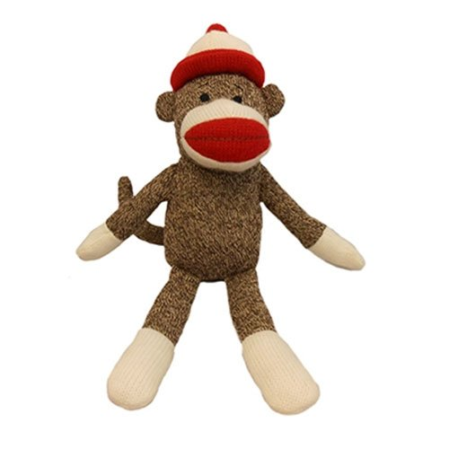 (Parker Sock Monkey Tan by Lulubelles)