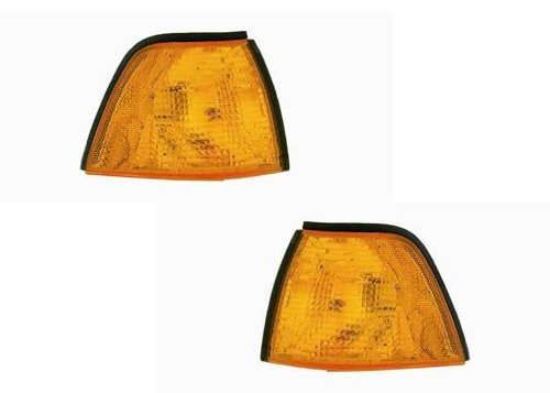 (BMW 3 Series Sedan Replacement Corner Light Unit - 1-Pair)