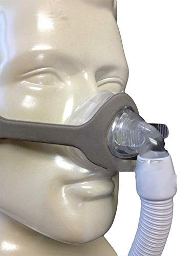 Nasal Mask Three Interchangeable mask Sizes (Small/Medium, Large, Extra Large) Included in Package for Easy Fitting (AZHeth)