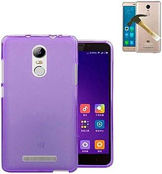 Todobarato24h Funda TPU Lisa Compatible con Xiaomi REDMI Note 3 ...