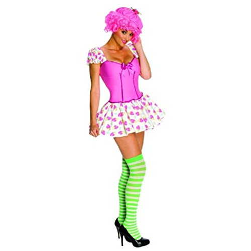 Secret Wishes Strawberry Shortcake Raspberry Tart Costume, Multi, (Strawberry Shortcake Costumes For Adults)