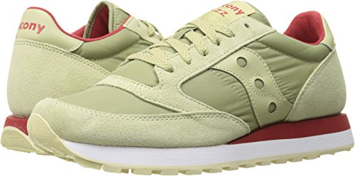 Saucony Originals Men's Jazz Original Fashion Sneaker, Light Tan, 14 M (Retro 14 Light)