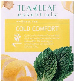 Exchange Unit - Cold Comfort Wellness Tea 10 bags per unit (bulk case of 24 units)