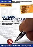 PC-Zeugnismanager: Professionelle und rechtssichere Arbeitszeugnisse in Minutenschnelle erstellen