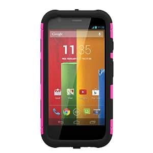 Trident Aegis Series Case for Motorola Moto G - Retail Packaging - Pink