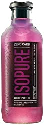 Nature's Best Zero Carb Isopure, Grape, 12-count