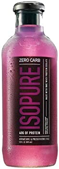 Nature's Best Zero Carb Isopure, Grape, 12-count 0