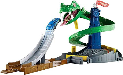 Hot Wheels City Cobra Crush Playset [Amazon Exclusive] ()