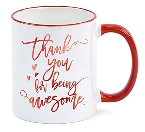 Employee Gift Thank You For Being Awesome Mug Employee Appreciation Gift Administrative Professionals Day Admin Assistant (Best Admin Day Gifts)