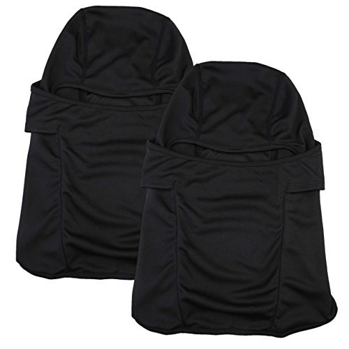 UPC 711091244937, Dimples Excel Balaclava Motorcycle Tactical Skiing Face Mask (2 Pack) (Black + Black)
