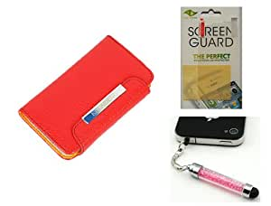 Harvard kid KALAIDENG Original FRESH Style Protective Cover Case for iPhone 4 4S & HD Clear Screen Protector & Crystal Stylus