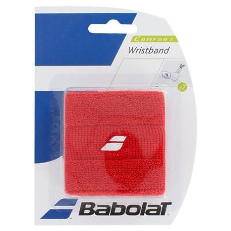 Babolat - Muñequeras (2 unidades) rojo rosso 45S1375