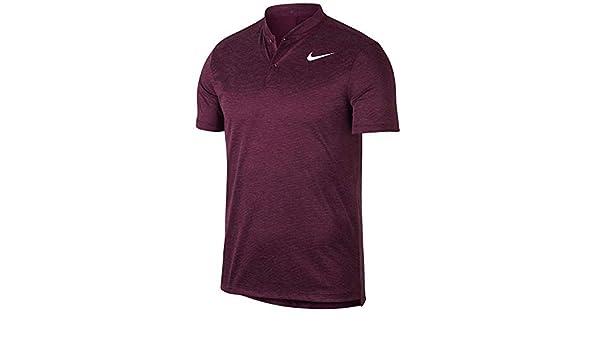 Nike 850698 Polo, Hombre, Rojo (Granate), X-Large (Tamaño del ...