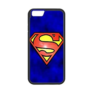 iPhone 6 4.7 Inch Cell Phone Case Black Abstract Funny Superman Logo VIU991396