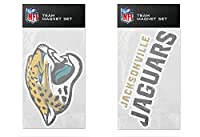 NFL Jacksonville Jaguars 2-Pack Magnet Set
