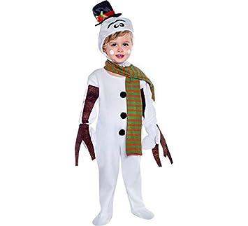 Disfraz de Muñeco de nieve en varias tallas: Amazon.es: Juguetes y ...
