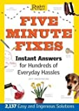 Five Minute Fixes, Reader's Digest Association, 0762105097
