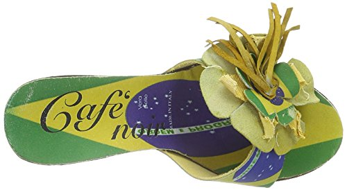 CAFèNOIR Sandalette  grün EU 39