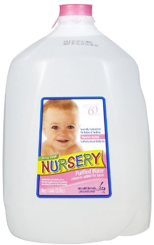 Nursery Nursery Purified Water 1 Gal (Pack Of 6)