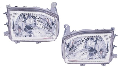 Monaco Monarch 2004-2007 RV Motorhome Pair (Left & Right) Replacement Front Headlights with Bulbs by BuyRVlights (Image #3)