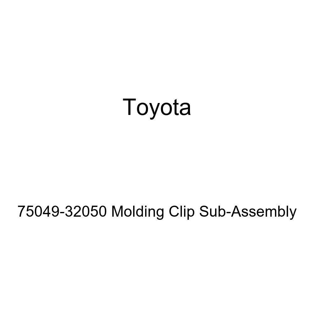 Body Genuine Toyota 75049-32050 Molding Clip Sub-Assembly Moldings