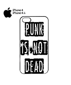 Punk is Not Dead Mobile Cell Phone Case Cover iPhone 4&4s White