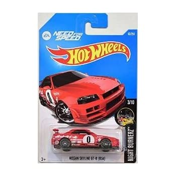 Amazon Com Hot Wheels 2016 Night Burnerz Need For Speed Nissan