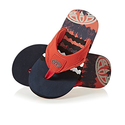 Animal Jekyl Logo Boys Sandals Dark Navy