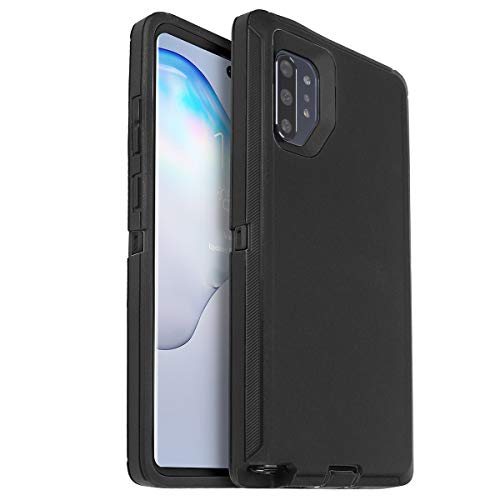 AICase for Galaxy Note 10 Plus Case, Drop Protection Full Body Rugged Heavy Duty Case with Screen Protector, Shockproof/Drop/Dust Proof 3-Layer Protective Cover for Samsung Galaxy Note 10 Plus ()