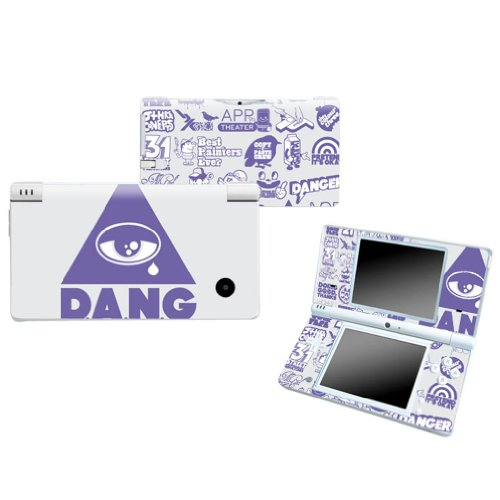 DANG Design Nintendo DSI NDSI DSi NDSi Vinyl Skin Decal Cover Sticker Protector (Matte Finish)+ Free Screen Protector Set
