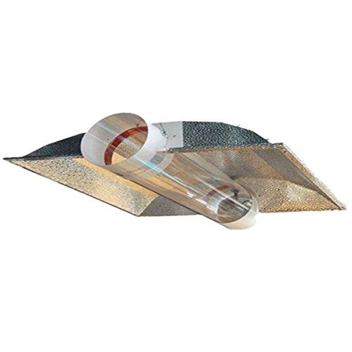 Hyindoor Wachsen Licht Reflektor / Luftgekühlte Hood für Hydroponik / 6in Cool Tube