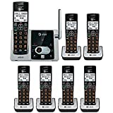 AT&T CL82313 Cordless Phone System with 7 HANDSETS, ANSWERING SYSTEM, CID, BRAND NEW
