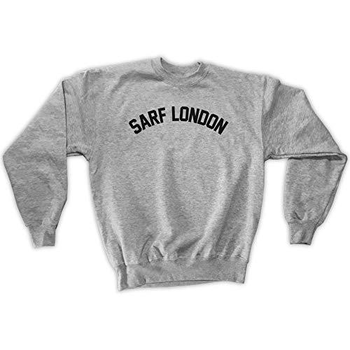 Sarf Outsider London Grigia Unisex Felpa Uomo Da PwpnZdqCw
