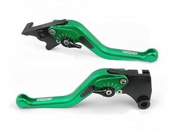 1 par de palancas de embrague y freno de aluminio CNC 3D de estilo corto para Honda CBR1000RR FIREBLADE 2004 2005 2006 2007 (H-33/F-33): Amazon.es: Coche y ...