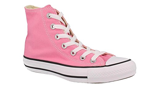 Converse, Donna, Chuck Taylor All Star High, Canvas, Sneakers Alte, Viola, 36 EU