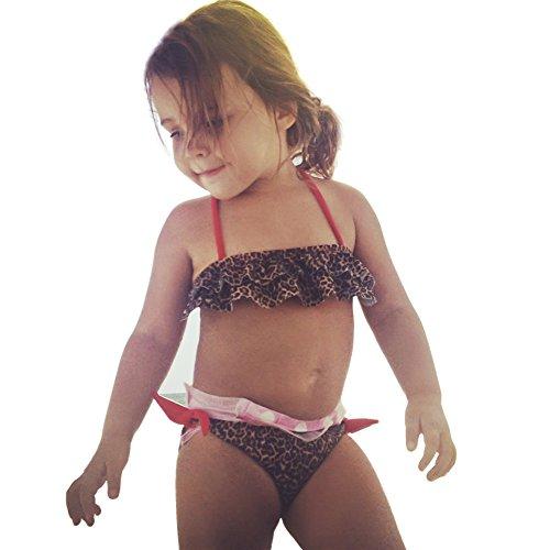 Chica Bebe Cheetah Bandeau - Cheetah Bandeau