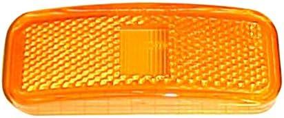 Optronics A-44ABP Amber Lens Rectangle Clearance Light