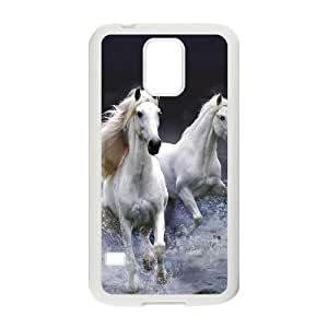 Horse ZLB533567 Customized Phone Case for SamSung Galaxy S5 I9600, SamSung Galaxy S5 I9600 Case
