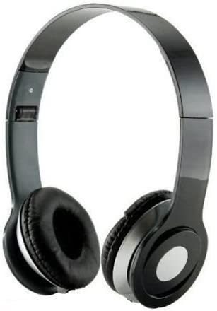 Roberts Fojjers Special Foldable Over The Head Stereo Dj Headphone 3.5 Mm for Pc Tablet Music Video & All Other Music Players. (Like Really Black)