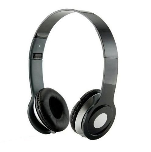 Roberts Fojjers Special Foldable Over the Head Stereo Dj Headphone 3.5 Mm for Pc Tablet Music Video & All Other Music Players.. (Like really Black)