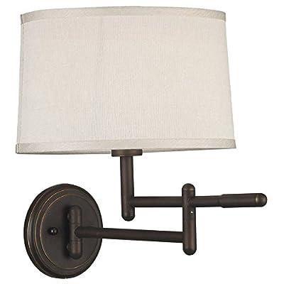 Kenroy Home Theta Wall Swing Arm Lamp - 19W in. Copper Bronze