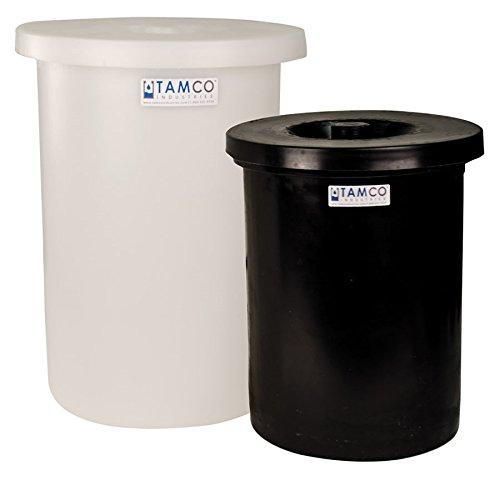Tamco Industries 3/4 Gallon Black Can 5inch Dia. x 7inch High