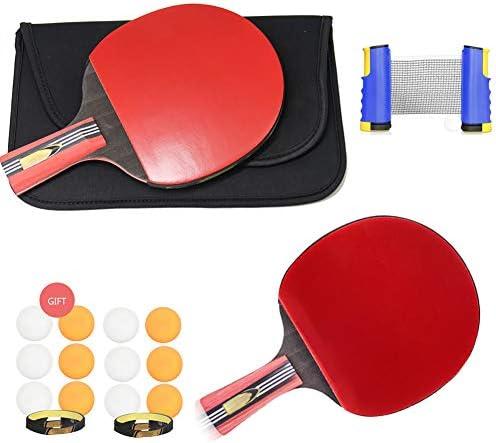 伸縮式卓球ゲームセット、伸縮式ネット付き卓球ラケットセット、屋内外フィットネス用卓球トレーニング